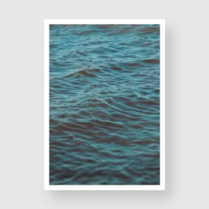 blue water ripples photography prints