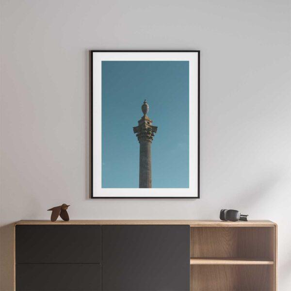 elveden monument framed photo print
