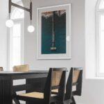 southwold pier drone framed print